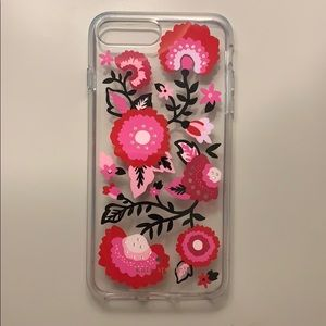 Kate Spade Floral & Jeweled IPhone 7/8 Plus Case!